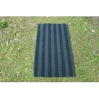 进口加强丝绿色条纹除尘毯面