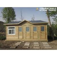 防腐木景区厕所\实木景观卫生间\炭化木装饰环保公厕厂家