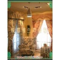 夢幻田園窗簾布藝