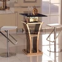 16年新款KTV茶几酒吧桌椅散台不锈钢吧台吧凳