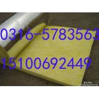 榆次区opp铝箔贴面100*12玻璃棉卷毡价格