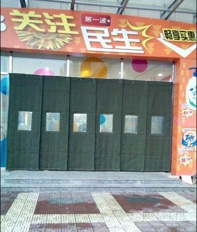 东营市牛津布防水棉门帘多种颜色欢迎订购