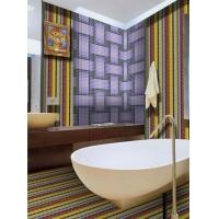 丽娜玻璃马赛克拼图背景墙 瓷砖 酒店 浴室 卫生间