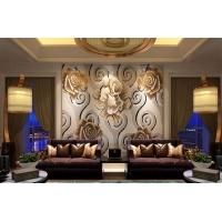 马赛克拼图背景墙 拼花壁画 酒店 家装 别墅