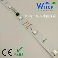 伟思拓WS2818 12V 30灯/米断点续传可编程幻彩灯条