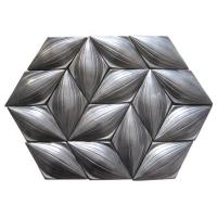 金属釉异形手工砖