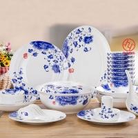 高档陶瓷礼品餐具图片