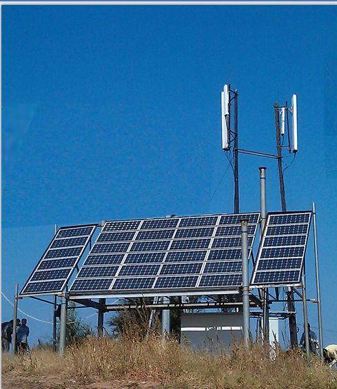 重庆市大足区太阳能通信基站系统