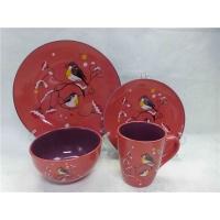 16头瓷餐具,陶瓷餐具,炻瓷色釉餐具,贴花瓷餐具