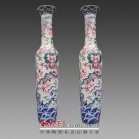 落地观赏青花瓷花瓶