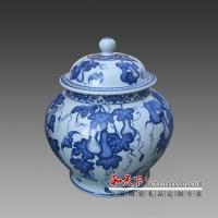 景德镇瓷器罐子