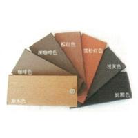 楚雄中信塑木新型材料 色板打磨面