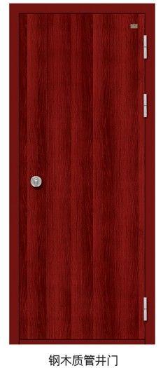 DQ33钢木质丙级管井门