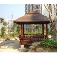 重庆木屋 木亭子 木廊架 木栏杆 花园木作