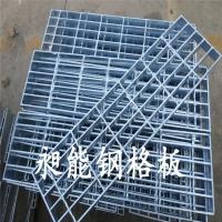 热镀锌网板 观光平台踏步钢格栅板异型
