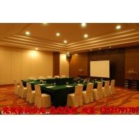会议桌布 会议台尼 会议桌裙桌罩 定做会议椅套