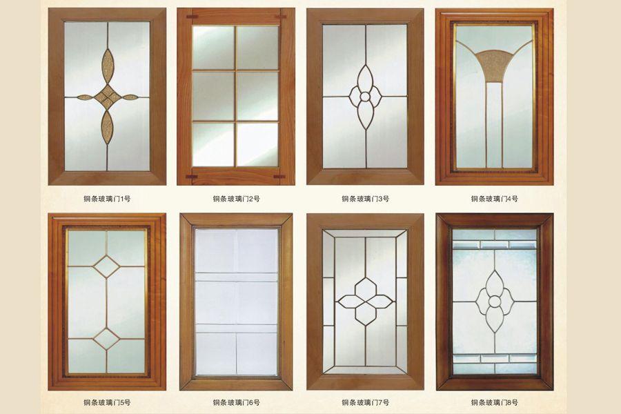 铜条玻璃门-01