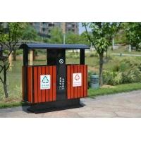 钢木垃圾桶/不锈钢垃圾桶/杭州垃圾桶/公园垃圾桶