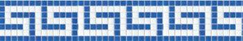 蓝色泳池玻璃马赛克腰线 别墅酒店休闲场所水池