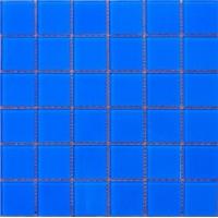 蓝色泳池玻璃马赛克别墅酒店休闲场所水池