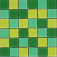房地产小区水池绿色玻璃马赛克瓷砖