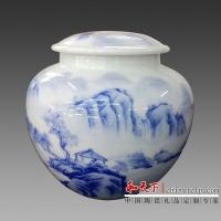 茶叶罐,礼品茶叶罐,高档茶叶罐,景德镇陶瓷茶叶罐定做
