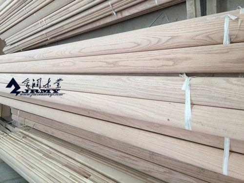 榉木实木楼梯整梯立柱扶手弯头进口烘干踏步板别墅护栏