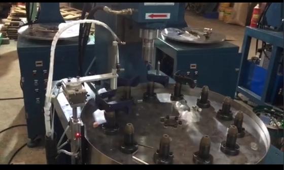 多工位转盘式自动旋铆机