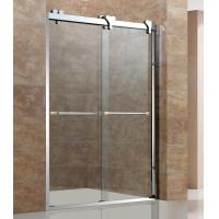 卫斯雅创新淋浴房2015新款淋浴门玻璃移门304不锈钢
