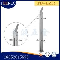 优质生产天波厂家 供应不锈钢  幕墙  立柱  栏杆立柱 扶