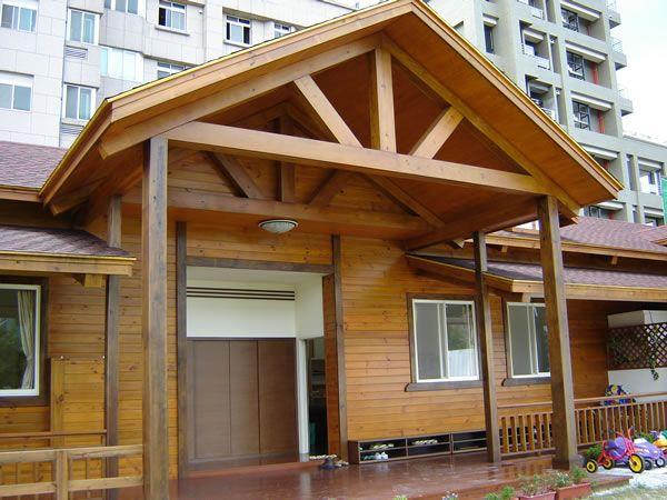 戶外防腐木木結構房屋
