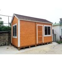 户外防腐木可移动小木屋 售货亭