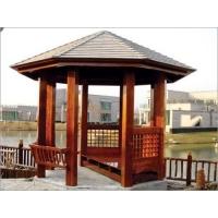 户外景观防腐木凉亭