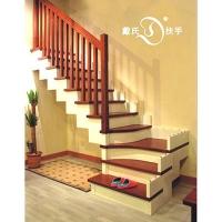 戴氏楼梯-L型 5-木制楼梯