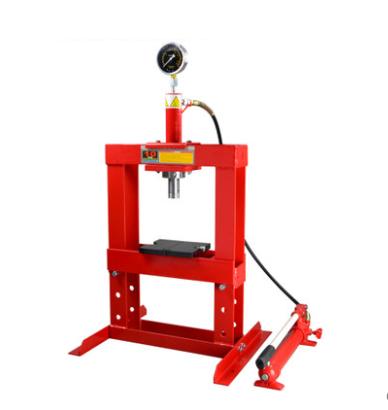 10T双柱式液压机 门架式手动压机 双柱式龙门压机 手动油压