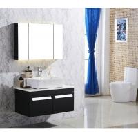 2015新款豪华不锈钢浴室柜美容镜下水器陶瓷盆