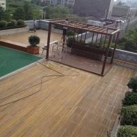 南京优质景观防腐木木廊架 江苏廊架供应