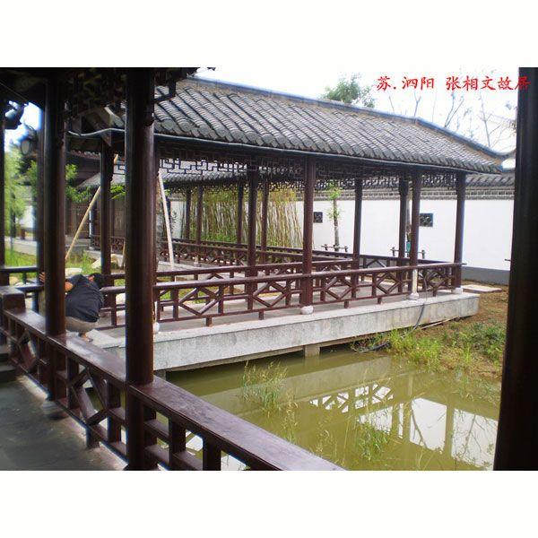 南京优质景观防腐木木廊架|江苏廊架供应