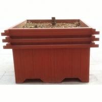 南京优质景观防腐木花池架|江苏花池供应