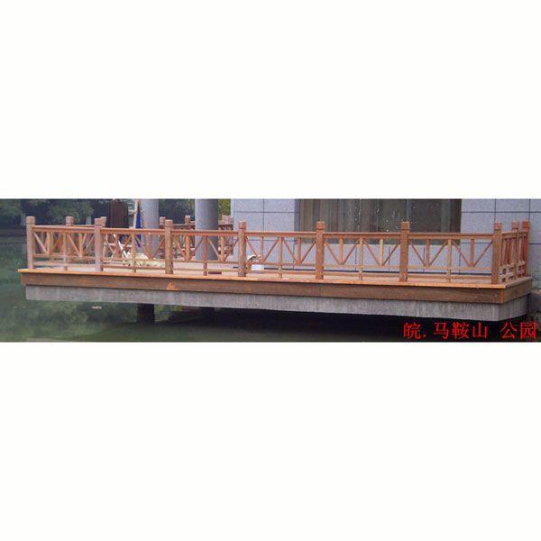 南京优质景观防腐木护栏扶手|江苏护栏供应