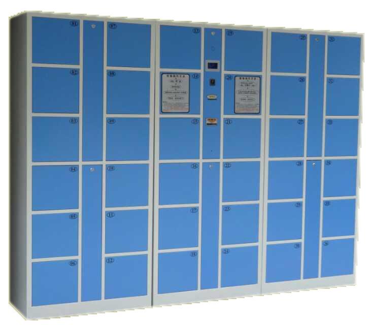 30门组合老湿影院48试条码型寄存柜