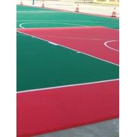 河南洛阳新型环保悬浮地板硅pU篮球场批发