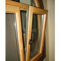 铝木复合72系列门窗 平开窗 上悬窗