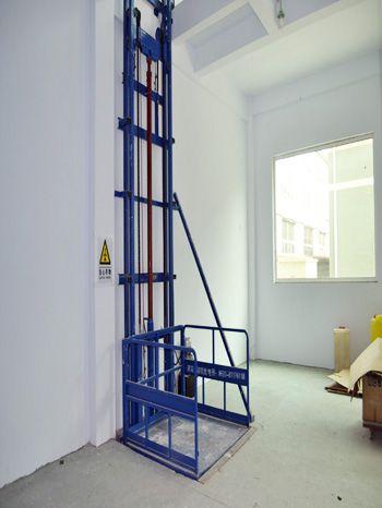 室内单体链条导轨式液压升降货梯
