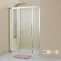 卫生间玻璃隔断淋浴屏