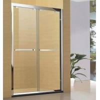 卫斯雅淋浴门安全钢化玻璃移门不锈钢
