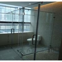 304不锈钢玻璃移门卫生间玻璃隔断批发