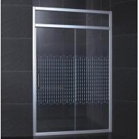 玻璃隔断门干湿分区加丝印移门