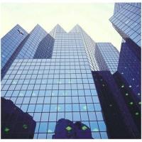 振兴防火玻璃幕墙系统-钢结构防火玻璃幕墙