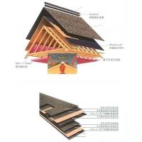 南京瓦片、沥青瓦片、别墅专用、南京家庭式瓦片